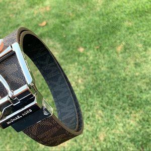 Authentic women's michael kors reversible belt